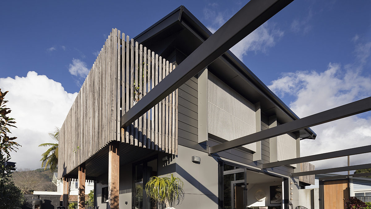 ExoTec Facade Panel & James Hardie Weatherboards